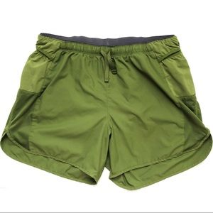 Patagonia Pro Strider Running Shorts Army Green M